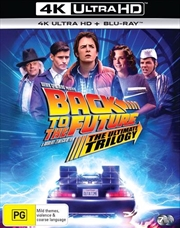 Back To The Future / Back To The Future 2 / Back To The Future 3 - Remastered | Blu-ray + UHD - 3 Mo | UHD