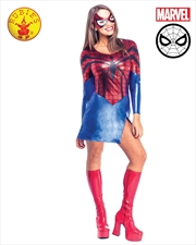Spidergirl Dress And Mask: L | Apparel