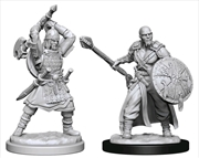 Dungeons & Dragons - Nolzur's Marvelous Unpainted Minis: Human Barbarian Male | Games
