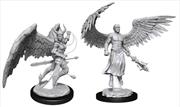 Dungeons & Dragons - Nolzur's Marvelous Unpainted Minis: Deva & Erinyes | Games