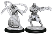 Dungeons & Dragons - Nolzur's Marvelous Unpainted Minis: Elf Wizard Male | Games