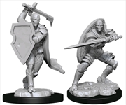 Dungeons & Dragons - Nolzur's Marvelous Unpainted Minis: Warforged Fighter Male | Games