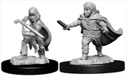 Dungeons & Dragons - Nolzur's Marvelous Unpainted Minis: Halfling Rogue Male | Games