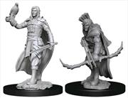 Dungeons & Dragons - Nolzur's Marvelous Unpainted Minis: Elf Ranger Male   Games