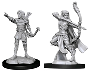 Dungeons & Dragons - Nolzur's Marvelous Unpainted Minis: Elf Ranger Female   Games