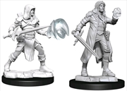 Dungeons & Dragons - Nolzur's Marvelous Unpainted Minis: Multiclass Fighter Wizard Male | Games