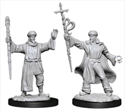Dungeons & Dragons - Nolzur's Marvelous Unpainted Minis: Human Wizard Male | Games