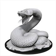 Dungeons & Dragons - Nolzur's Marvelous Unpainted Minis: Giant Constrictor Snake | Games
