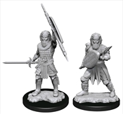 Dungeons & Dragons - Nolzur's Marvelous Unpainted Minis: Human Fighter Male | Games