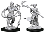 Magic the Gathering - Unpainted Miniatures: Stoneforge Mystic & Kor Hookmaster | Games