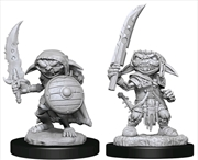 Pathfinder - Deep Cuts Unpainted Miniatures: Goblin Fighter Male | Games