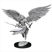Magic the Gathering - Unpainted Miniatures: Aurelia Exemplar of Justice | Games