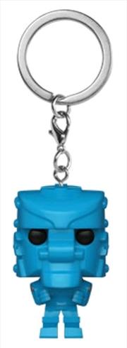 Mattel - Rock Em Sock Em Robot Blue Pocket Pop! Keychain | Pop Vinyl
