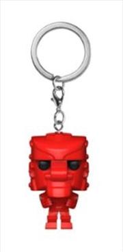 Rock Em Sock Em Robot Red | Pop Vinyl