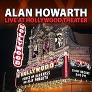 Alan Howarth Live At Hollywood Theater | CD