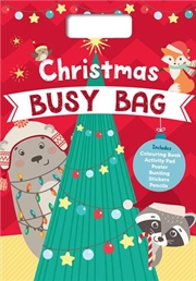 Christmas Busy Bag | Colouring Book