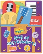 Bag Of Instruments - The Wiggles Lift The Flap | Board Book