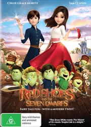 Red Shoes And The Seven Dwarfs | DVD