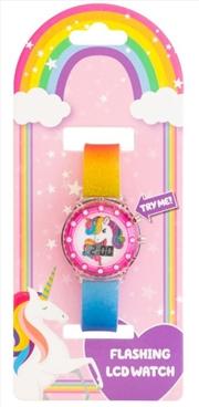 Unicorn Light Up Digital Watch | Apparel