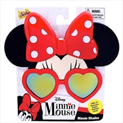 Big Characters: Minnie Heart Frame Sun-Staches | Apparel