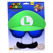 Big Characters: Luigi Sun-Staches | Apparel