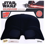 Big Characters: Darth Vader Sun-Staches   Apparel