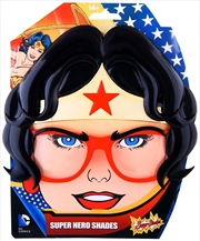 Big Characters: Wonder Woman Sun-Staches | Apparel