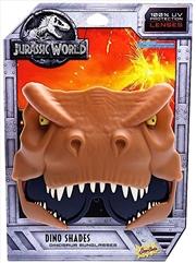 Big Characters Jurassic World T-Rex Sun-Staches   Apparel