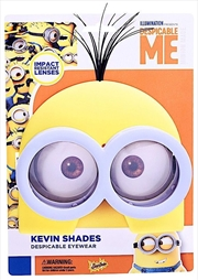 Big Characters: Yellow Minion Sun-Staches | Apparel
