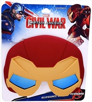 Big Characters: Iron Man Sun-Staches | Apparel