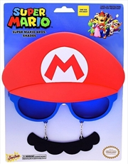 Big Characters: Mario Sun-Staches | Apparel