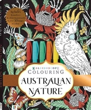 Australian Nature - Colouring Kit | Hardback Book