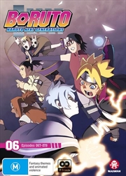 Boruto - Naruto Next Generations - Part 6 - Eps 67-79 | DVD