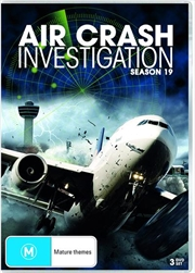 Air Crash Investigations - Season 19 | DVD
