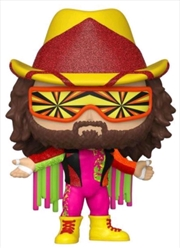 WWE: NWSS- Macho Man Randy Savage Diamond Glitter US Exclusive Pop! Vinyl [RS] | Pop Vinyl