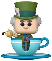 Disneyland 65th Anniversary - Mad Hatter Teacup US Exclusive Pop! Ride | Pop Vinyl