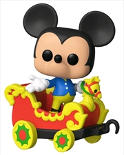 Disneyland 65th Anniversary - Mickey in Train Carriage Pop! Vinyl | Pop Vinyl