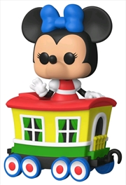 Disneyland 65th Anniversary - Minnie Train Carriage US Exclusive Pop! Vinyl [RS] | Pop Vinyl
