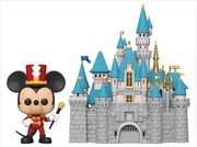 Disneyland 65th Anniversary - Mickey with Castle Pop! Town | Pop Vinyl