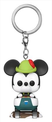 Disneyland 65th Anniversary - Mickey Matterhorn Pocket Pop! Keychain | Pop Vinyl