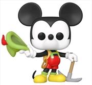 Disneyland 65th Anniversary - Mickey In Lederhosen Pop! Vinyl (max 6) | Pop Vinyl