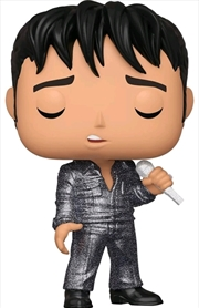 Elvis - 68 Comeback Special Diamond Glitter US Exclusive Pop! Vinyl [RS] | Pop Vinyl
