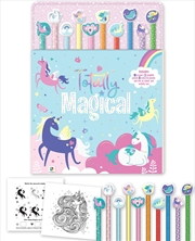Totally Magical 10 Pencil Set | Colouring Book