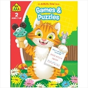 Games And Puzzles: Ages 7 Plus | Paperback Book