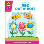 ABC Dot To Dots: Ages 3-5 | Paperback Book