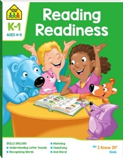 Reading Readiness: Ages 4-6 | Paperback Book
