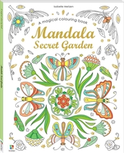 Mandala Secret Garden | Colouring Book