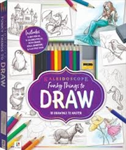 Funky Things To Draw | Colouring Book