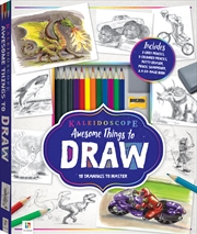Awesome Things To Draw | Colouring Book