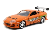 Fast & Furious - 1995 Toyota Supra Orange 1:32 Scale Hollywood Ride | Merchandise